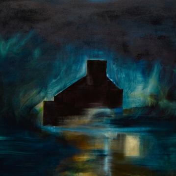 Koti I / Home I, 2018. Öljy kankaalle / Oil on canvas, 146 cm x 100 cm.