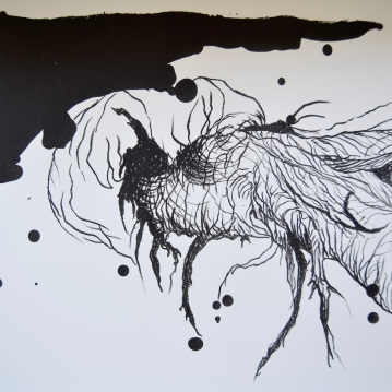 Evil bug, 2018. Litografia / Litography. 28 cm x 38 cm.