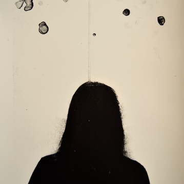 Nimetön / Nameless, 2018. Litografia / Litography. 35 cm x 25 cm