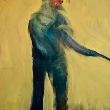 Nimetön / Nameless, 2019. Öljy kankaalle / oil on canvas, 100 cm x 80 cm.